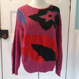 Vintage hand knitted by Counterparts 1980s